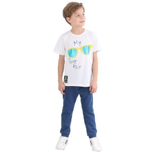 Camiseta Infantil Menino My Poker Face