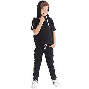 Agasalho Infantil Menino Style Comfort Black