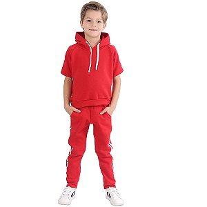 Agasalho Infantil Menino Style Comfort Red