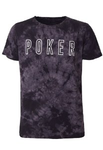 Camiseta Poker Grey