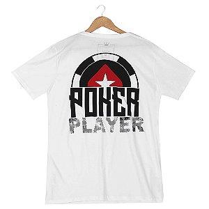 Camiseta BSOP Poker Player Branco