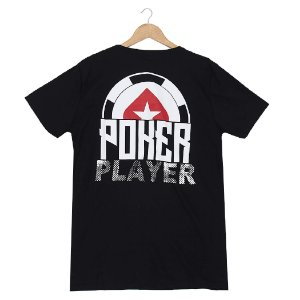 Camiseta BSOP Poker Player Preto