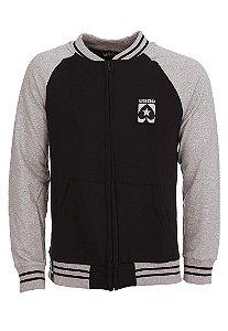 Moletom BSOP College Black and Grey