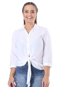 Blusa Feminina Classic Off-White