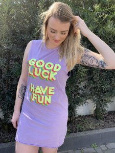 Vestido Good Luck Have Fun