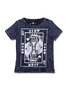 Camiseta Feminina Marmorizada The King
