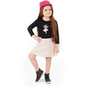 Conjunto Infantil Menina Bailarina