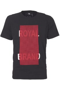 Camiseta Royal Brand Red Square