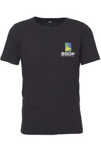 Camiseta BSOP Series of Poker Preto