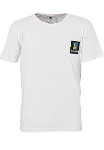 Camiseta BSOP Puzzle Branco