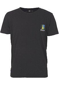 Camiseta BSOP Puzzle Preto