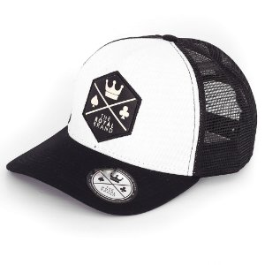 Boné Royal Logo Black & White