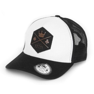 Boné Royal Logo Black & Brown