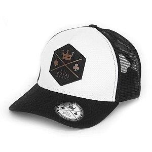 Boné Royal Logo Black & Brown