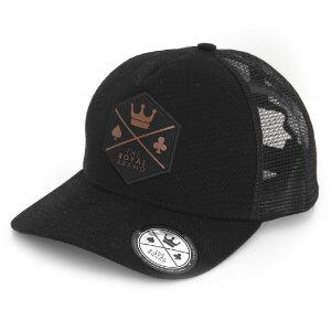 Boné Royal Logo Black