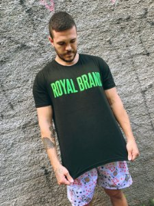 Camiseta Royal Signature Preto