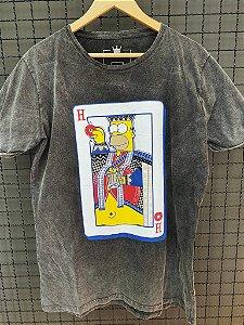 Camiseta Long King Homer