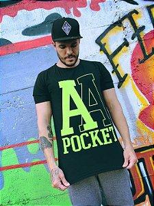Camiseta Pocket Aces Neon