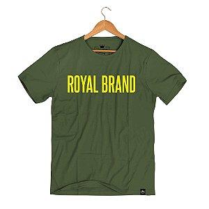 Camiseta Royal Signature Verde