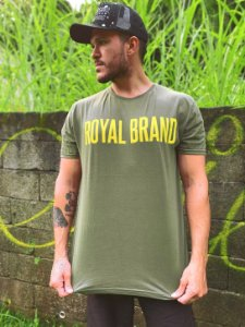 Camiseta Royal Signature Verde