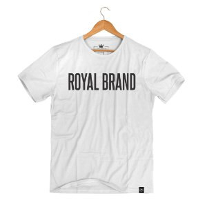 Camiseta Royal Signature Branco