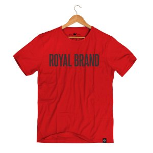 Camiseta Royal Signature Vermelho