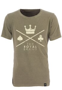 Camiseta Royal Signature Logo Verde