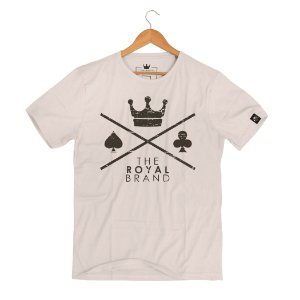 Camiseta Royal Signature Logo Cream