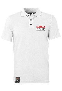 Polo KSOP Oficial Branco
