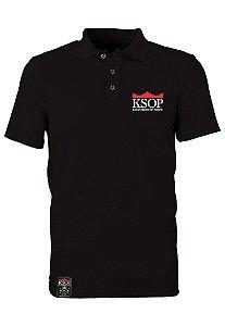 Polo KSOP Oficial Preto