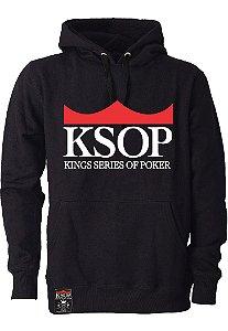 Moletom KSOP Logo Preto