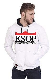 Moletom KSOP Logo Branco