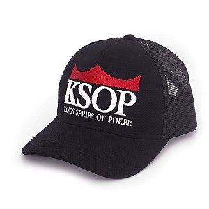 Boné KSOP Oficial Preto