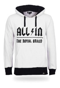Moletom All In Royal Brand White