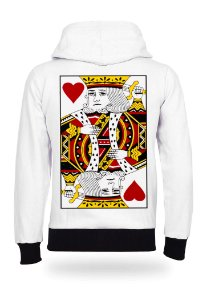 Moletom King of Hearts White