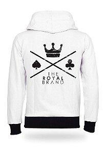 Moletom Royal Brand Logo White