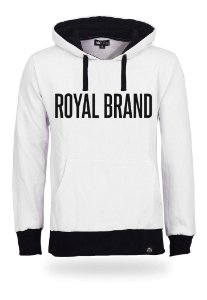 Moletom Royal Brand White & Black