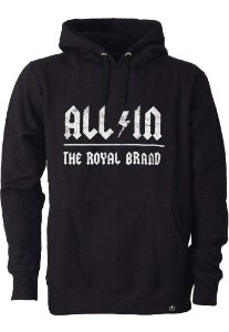 Moletom All in Royal Brand Black