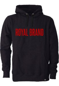 Moletom Royal Brand Black & Red