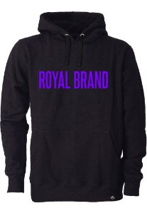 Moletom Royal Brand Black & Purple