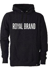 Moletom Royal Brand Black & White
