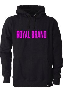 Moletom Royal Brand Black & Pink