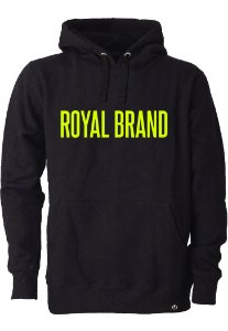 Moletom Royal Brand Black & Yellow