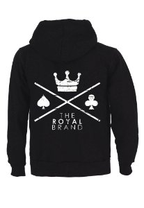 Moletom Royal Brand Logo Black