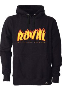 Moletom Royal Brand Flames