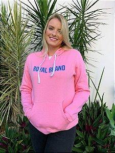 Moletom Feminino Royal Brand Pink