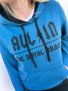Moletom Feminino All In Royal Brand
