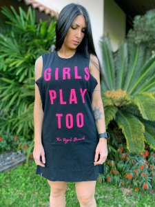 Vestido Girls Play Too Preto