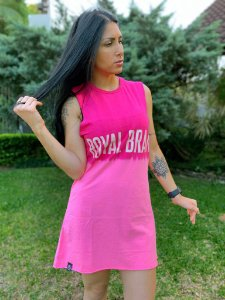 Vestido Royal Brand Tie Dye Rosa