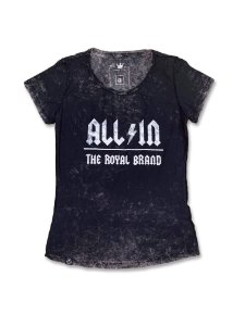 Camiseta Feminina All In Royal Brand